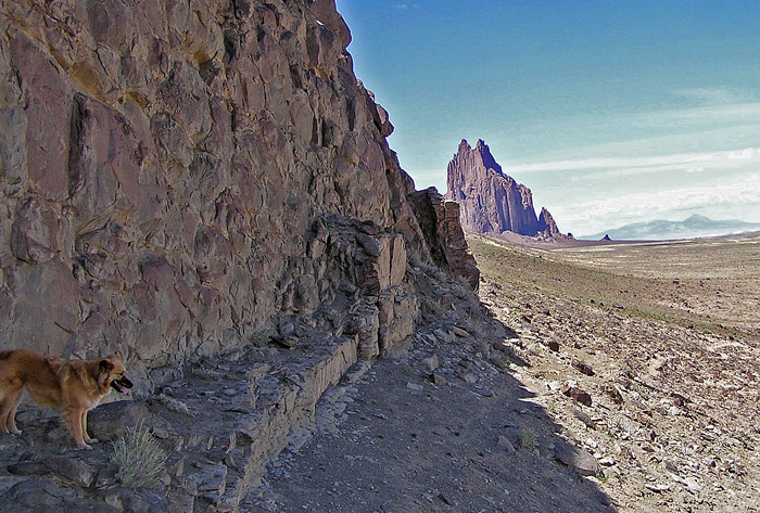 Shiprock and Willi